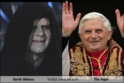 Darth Sidious Totally Looks Like The Pope Cheezburger Funny
