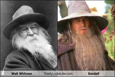 gandalf Lord of the Rings walt whitman
