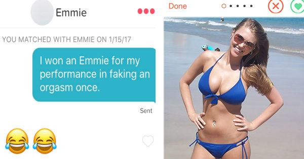 tinder small talk that is almost worthy of being counted as a meme