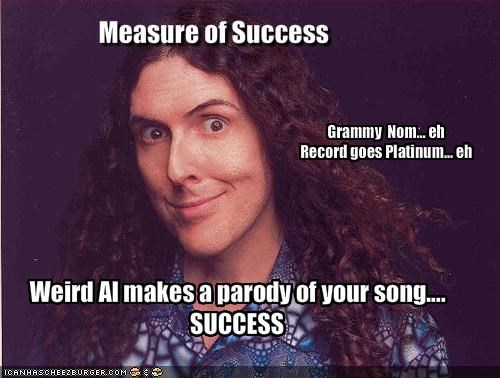 Awards musician parodies success Weird Al Yankovic - 1790041344
