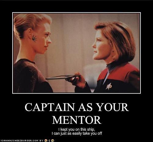 CAPTAIN AS YOUR MENTOR