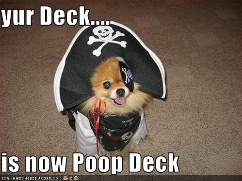costume deck FAIL Pirate poop - 1799335680