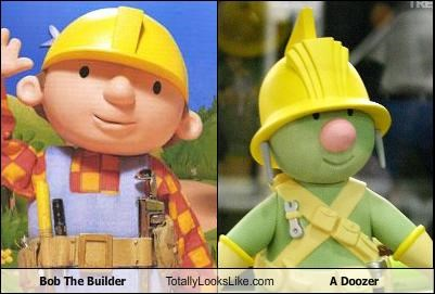 bob the builder children doozers fraggle rock TV