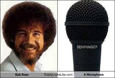 bob ross electronics microphone The Joy Of Painting