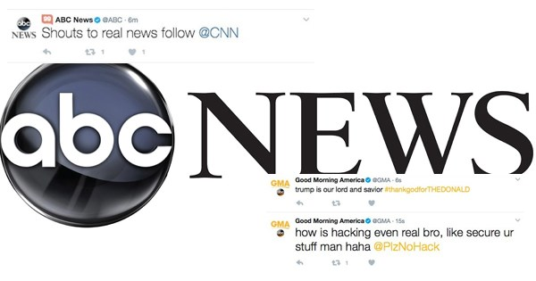 twitter hacked fake news abc news - 1808133