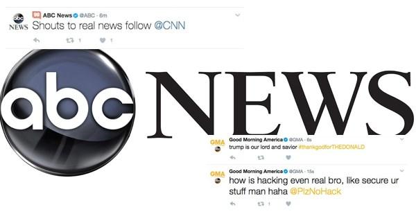 twitter hacked fake news abc news - 1808133