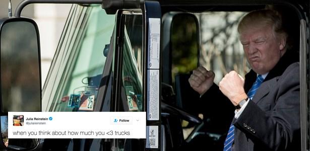 donald trump trucks - 1814533