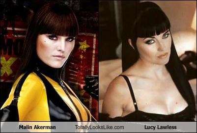 Lucy Lawless Mailn Ackerman movies TV