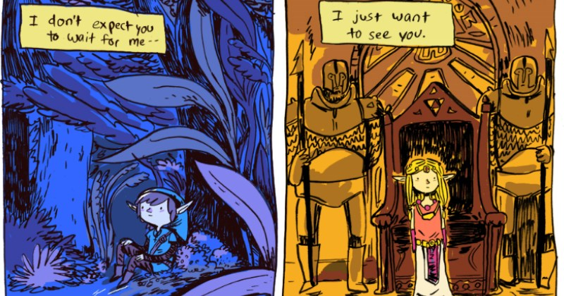 legend of zelda,web comics