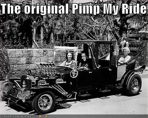 Automobiles,cars,pimp my ride,The Munsters,TV