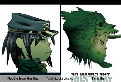Noodle From Gorillaz Totally Looks Like Tank Girl Cheezburger