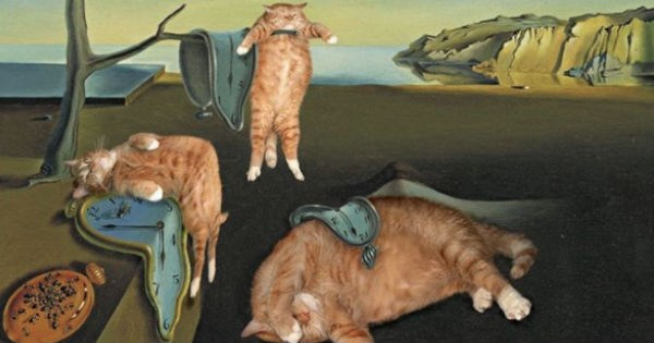 fat art history painting Cats