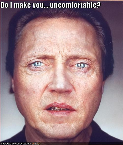 christopher walken,creepy,movies,uncomfortable