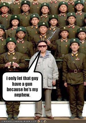 guns Kim Jong-Il military North Korea soldiers - 1834940672