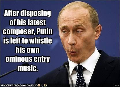 music is dead president prime minister russia Vladimir Putin - 1835384576