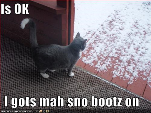 boots,outside,snow
