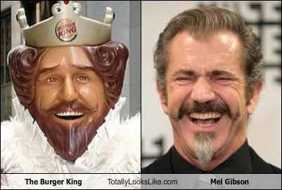 food,mel gibson,movies,the burger king