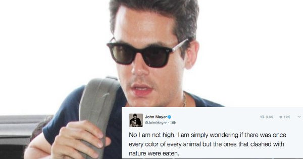 twitter stoned natural selection animals john mayer - 1847301