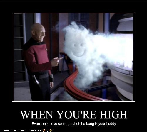 bong,Captain Picard,drugslots-and-lots-of-drugs,patrick stewart,science fiction,sci fi,Star Trek,TV