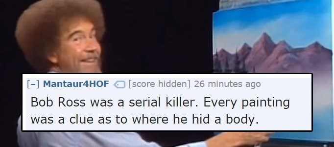 fan theory bob ross ridiculous - 1853701