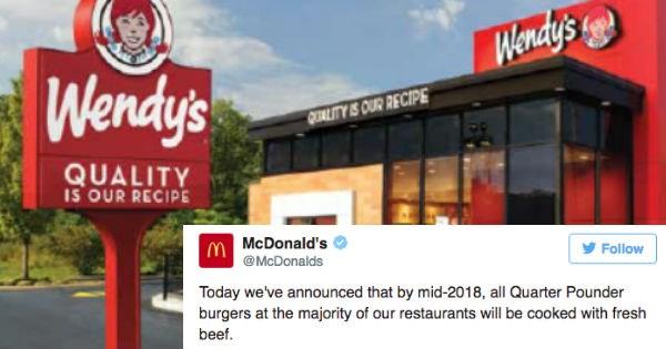 epic twitter McDonald's wendys funny - 1854469