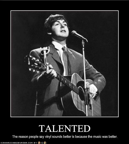 Music,paul mccartney,talent,the Beatles,vinyl