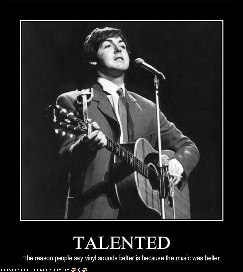 Music paul mccartney talent the Beatles vinyl - 1854711040