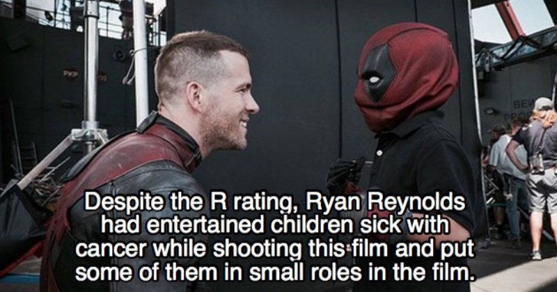 cool deadpool movie facts