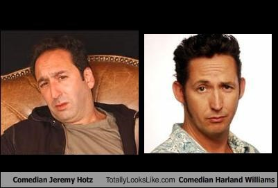 Comedian Jeremy Hotz Totally Looks Like Comedian Harland