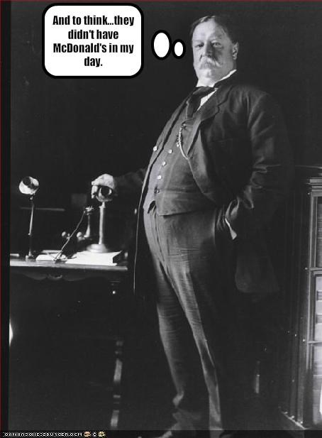 Historical McDonald's president Republicans william howard taft - 1863805696