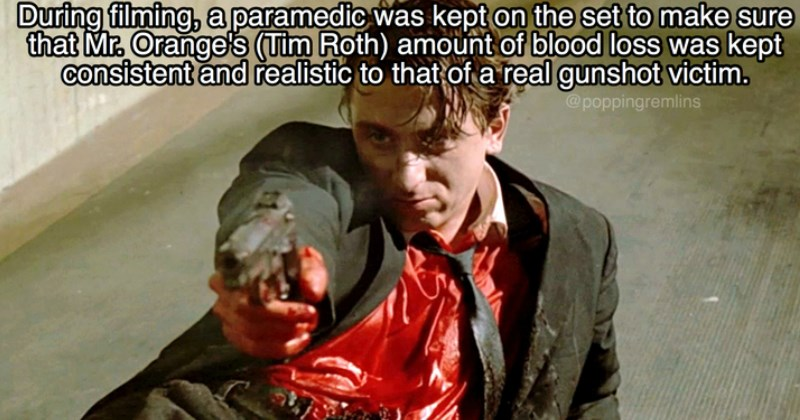 facts about the movie Reservoir Dogs