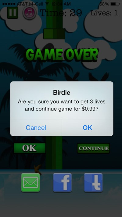wtf list mobile games flappy bird clones video games - 187397