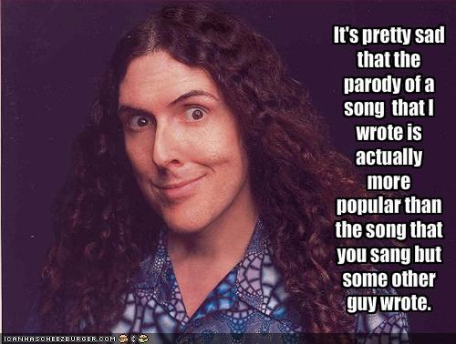 Music parody Weird Al Yankovic - 1880103680