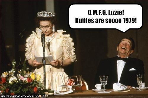 president,Queen Elizabeth II,Republicans,Ronald Reagan