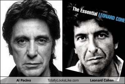 actor al pacino composer Leonard Cohen movies Music musician