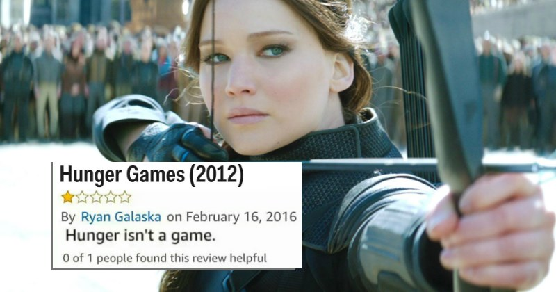 Hunger Games bad Amazon movie review