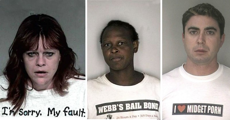 30 of the Worst Mugshot Shirts Ever