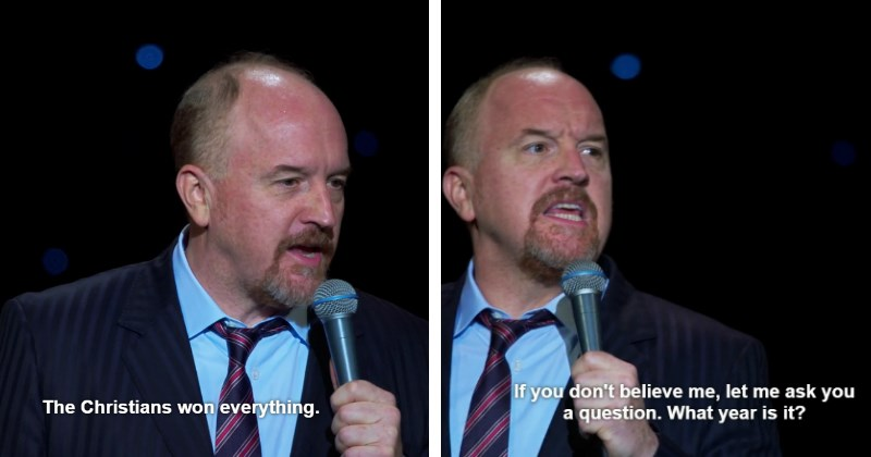 jesus christ,stand up,louis ck,comedy