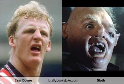 football,iain dowie,movies,sloth,soccer,the goonies