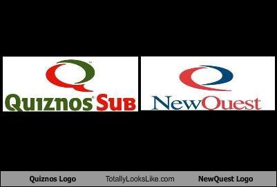 logos newquest quiznos restaurant - 1899200256