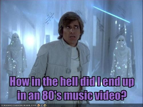 80s,A Team,Battlestar Galactica,dirk benedict,music video