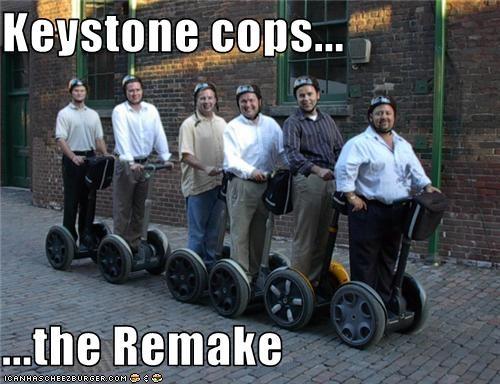 Keystone Cops The Remake Cheezburger Funny Memes Funny