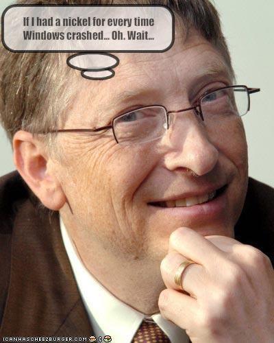 Bill Gates computers Windows Vista windows xp - 1916077312