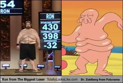 animation,cartoons,dr zoidberg,futurama,reality shows,the biggest loser