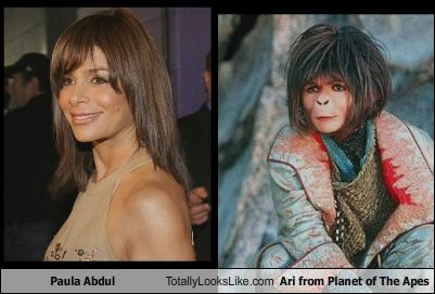 Paula Abdul Totally Looks Like Ari from Planet of The Apes