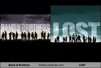 band of brothers hbo lost miniseries promo shots TV