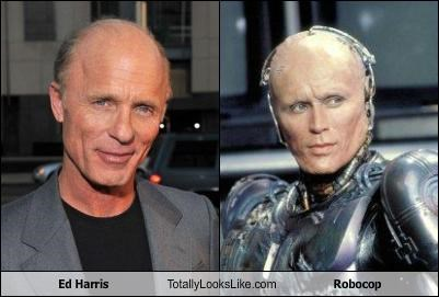 Ed Harris Totally Looks Like Robocop