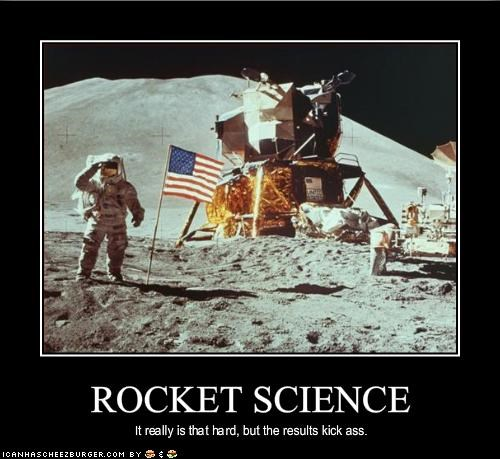 astronaut moon nasa Rocket Science - 1944545536