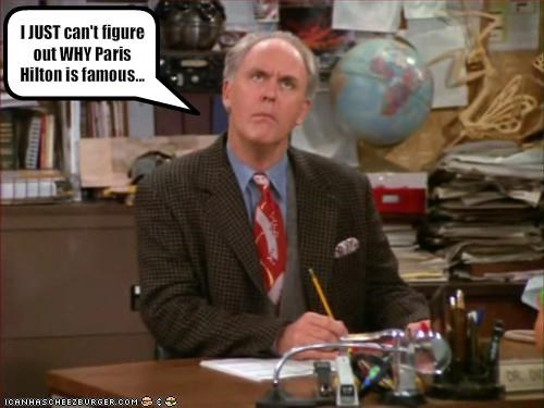 famous for no reason john lithgow movies paris hilton third rock from the sun TV - 1950355712