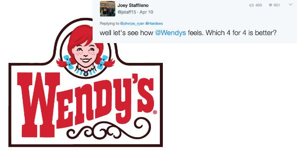 twitter wendys reaction fast food - 1951237